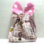 Drawstring Easter Bunny Bag