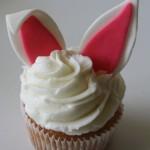 Easter cupcakes - bunny ears
