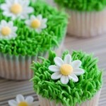 Easter cupcakes - flowers