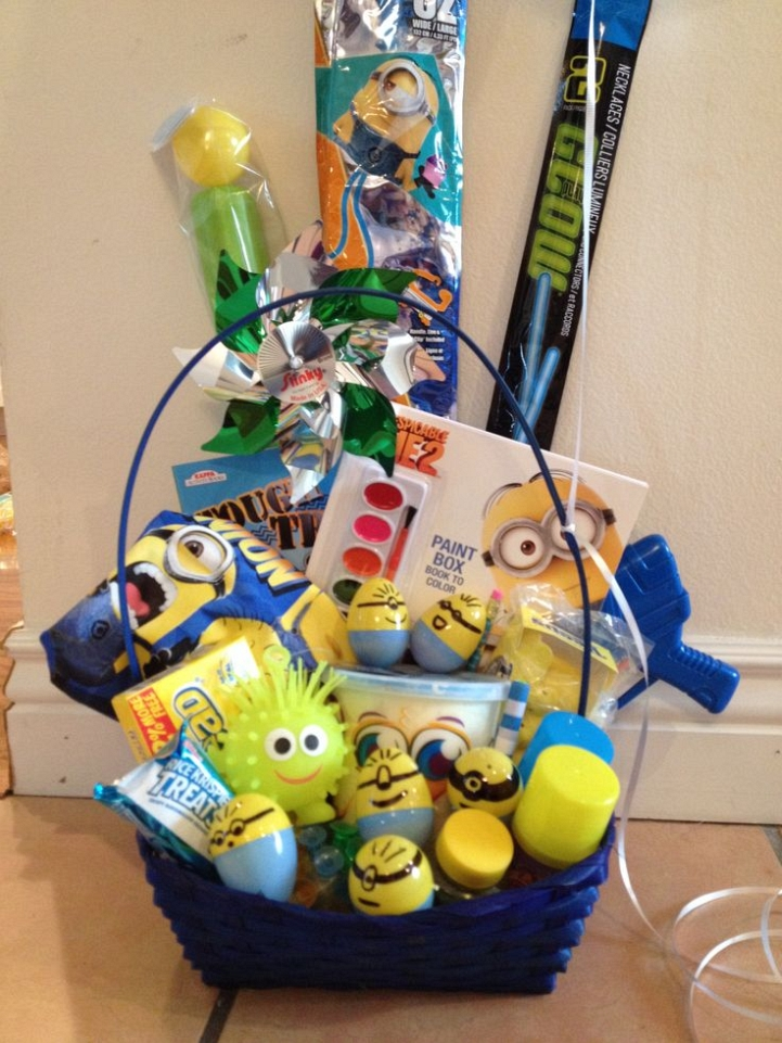 Minions easter basket idea creative ads and more minions easter basket idea negle Gallery
