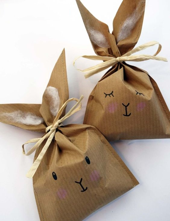 Paper Easter Treat Bags