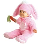 Pink Baby Girl Bunny Costume