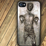 Star Wars Han Solo Frozen In Carbonite iPhone Case