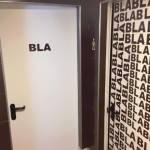 bla bla bla funny bathroom sign