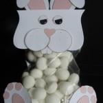 cute Easter bunny treat bag idea