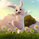 easter bunny hd wallpaper