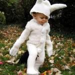 easter white rabbit costume for kids