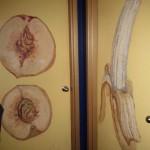fruits funny bathroom sign
