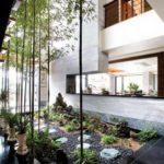 Creative garden landscaping idea(116)
