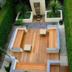 Creative garden landscaping idea(119)