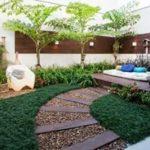 Creative garden landscaping idea(122)