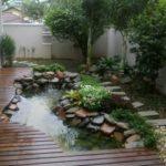 Creative garden landscaping idea(130)