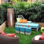 Creative garden landscaping idea(132)