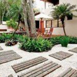 Creative garden landscaping idea(156)