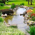 Creative garden landscaping idea(172)