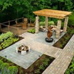 Creative garden landscaping idea(185)