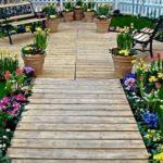 Creative garden landscaping idea(205)