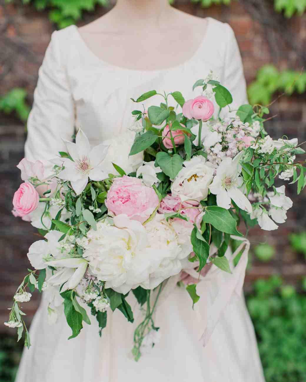 Bridal Bouquet Garden Roses : Peonies and garden roses wedding bouquet creative ads