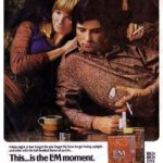 L&M vintage tobacco ad