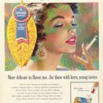 Philip Morris vintage tobacco ad