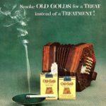 old gold vintage tobacco ad