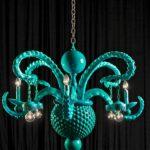 Octopus chandelier - Adam Wallacavage Design 2