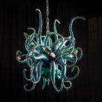 Octopus chandelier - Adam Wallacavage Design 7