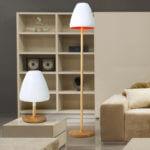 wood Creative Floor Lamp 7