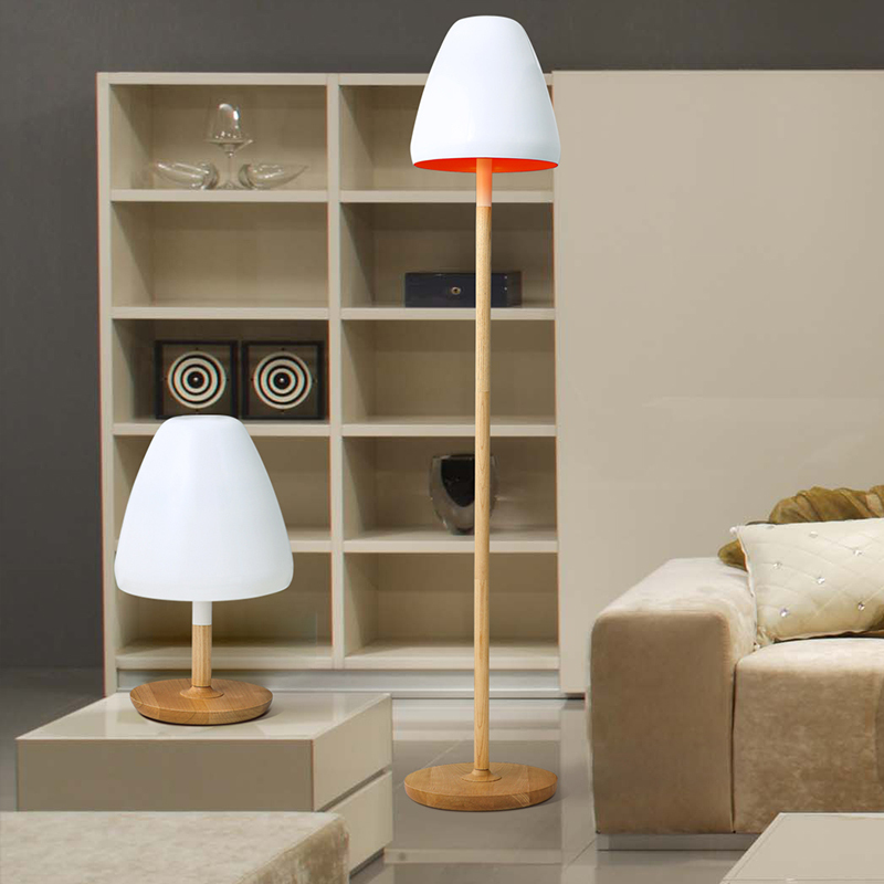 wood Creative Floor Lamp 7   Creative Ads and more…