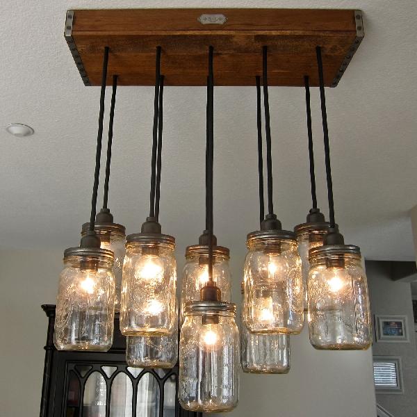 Antique Jar Pendant Lights