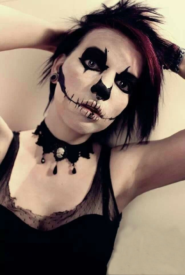 Goth Halloween Makeup Idea 2 Creative Ads And More