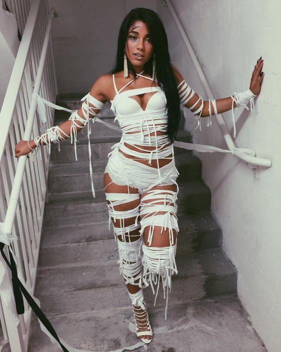 Halloween Slutty Mummy Costume