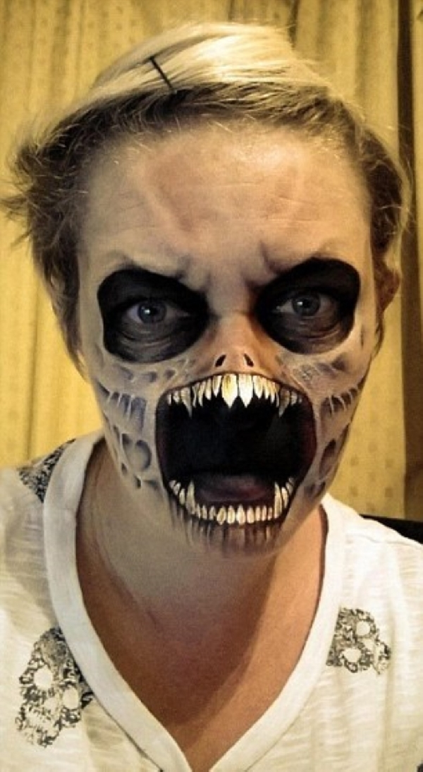 openmouthhalloweenmakeupidea creative ads and more�