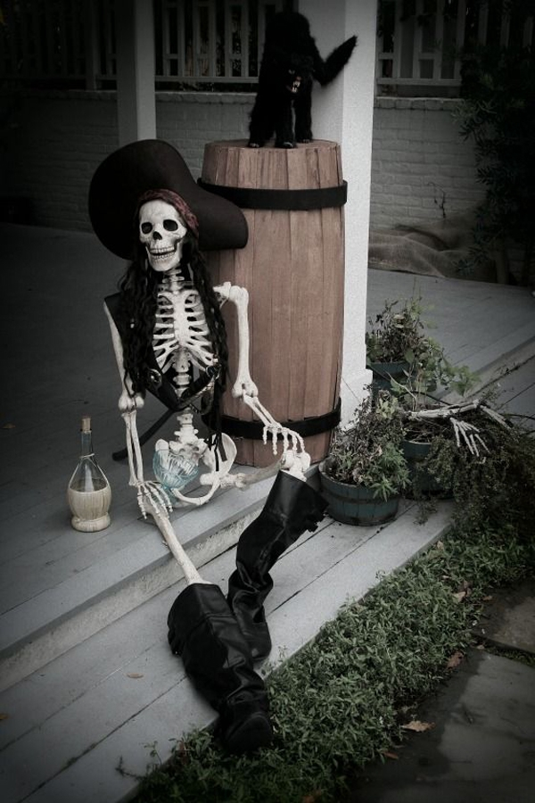 Halloween Pirate Decorations Ideas.Pirate Halloween Decoration Idea Creative Ads And More