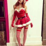 Slutty Halloween Santa Costume