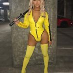 Slutty Kill Bill Halloween Costume