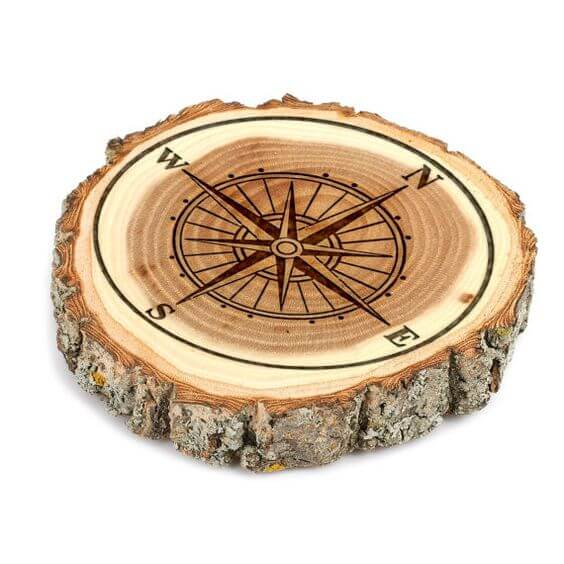 Tree Stump Coasters Idea 2 Creative Ads And More