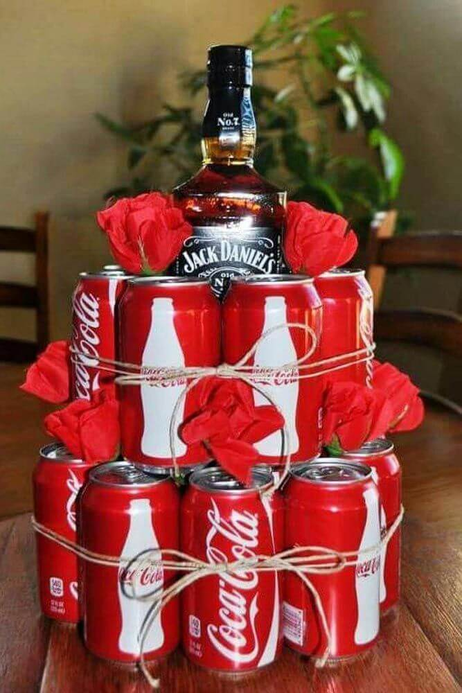 Jack And Coke Valentine's Gift For Him