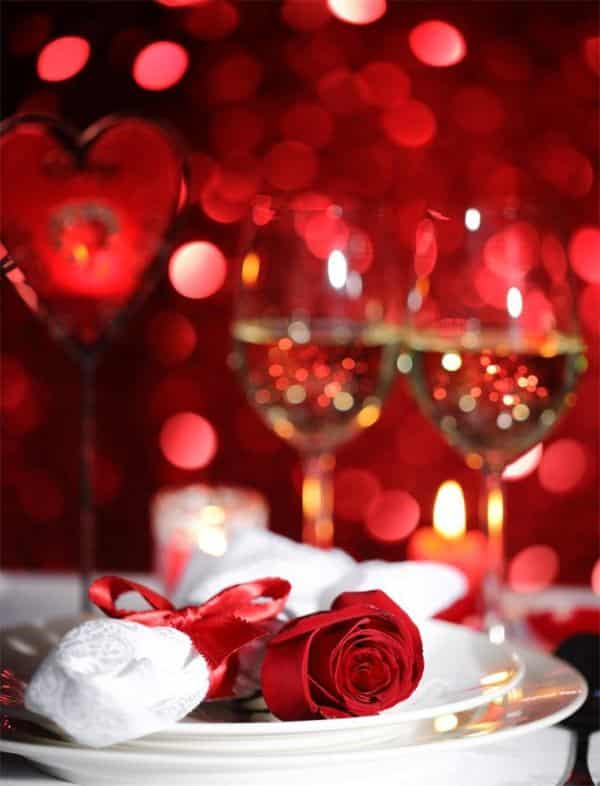 Valentines Day Romantic Dinner Idea Creative Ads And More