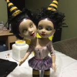 Creepy Doll Halloween Props