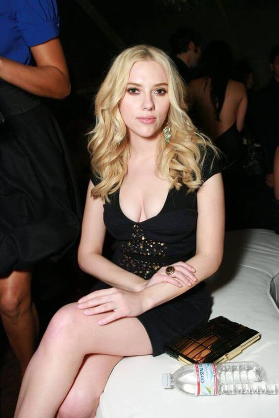 Pretty Scarlett Johansson