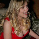 Scarlett Johansson In Red 5