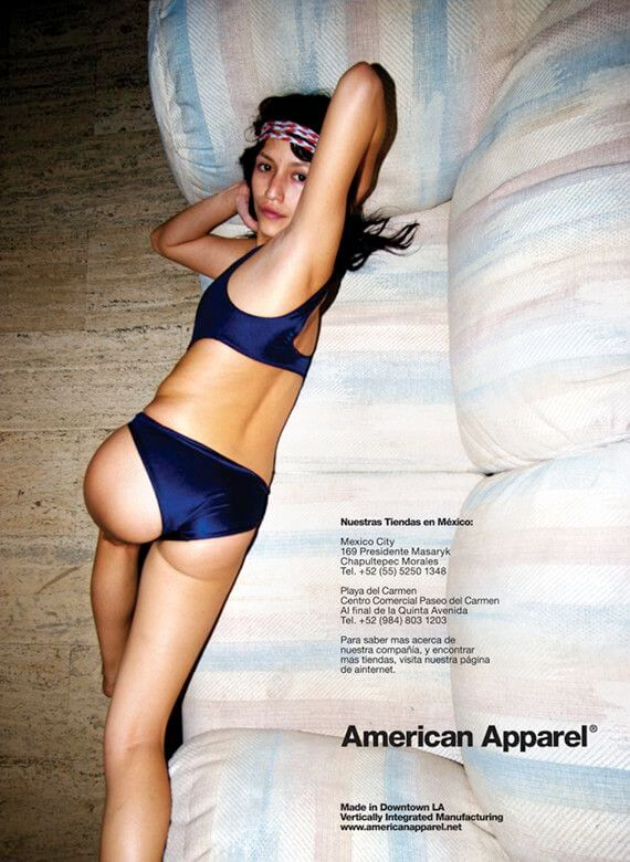 American Apparel Hot Ass Ad