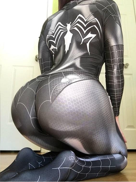 Kasaicosplay As Symbiote Black Cat