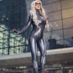 Symbiote Black Cat Cosplay By Elizabeth Rage