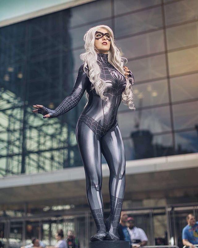 Symbiote Black Cat Cosplay By Elizabeth Rage