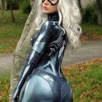 Symbiote Black Cat Cosplay By Jamie Tyndall