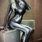 Symbiote Black Cat By Danielle Beaulieu