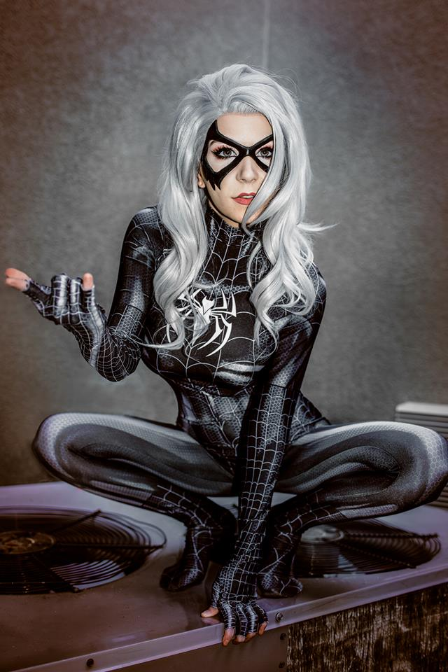 Symbiote Black Cat By Danielle Beaulieu 2