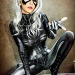 Symbiote Black Cat By Danielle Beaulieu 3